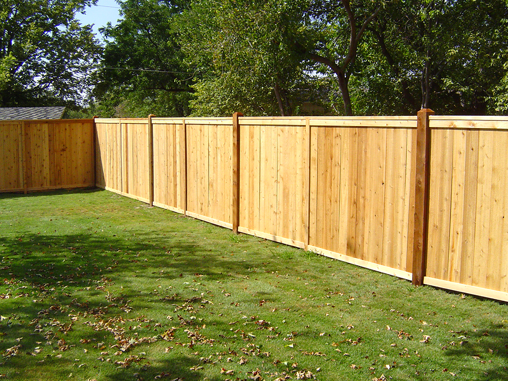 Cap and Trim Fence