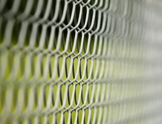 Close Up of Chain Link Fence