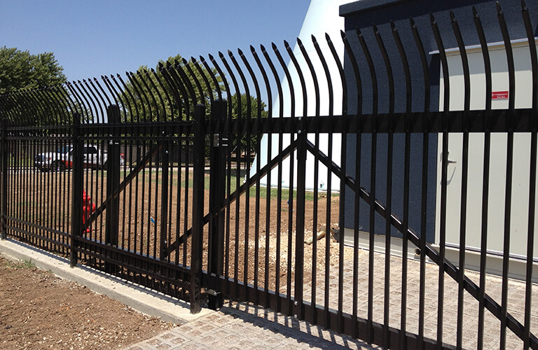Custom Commercial Fence