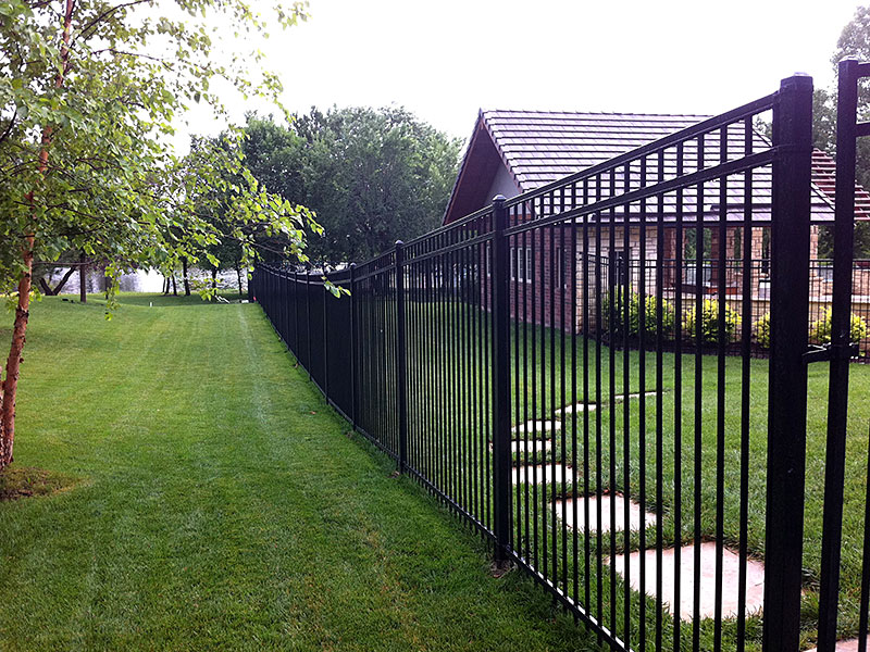 Tall Wrought Iron Fence